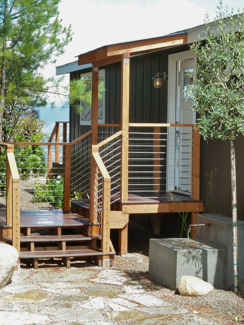 Modern Exterior design by Los Angeles Interior Designer Moore About  Design A Double Wide Remodel Mobile and Manufactured Home Living