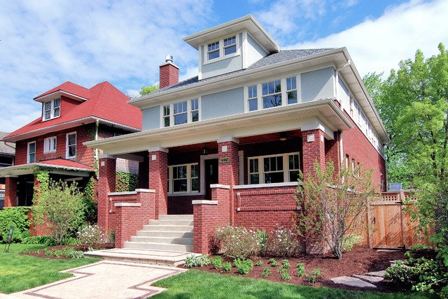 Chicago Home Remodeling Exterior Remodelling window grids | houzz