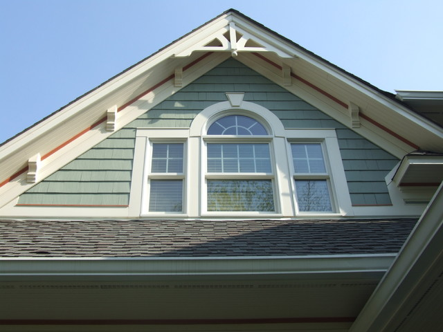 Exterior Gable Details Westfield Nj Traditional
