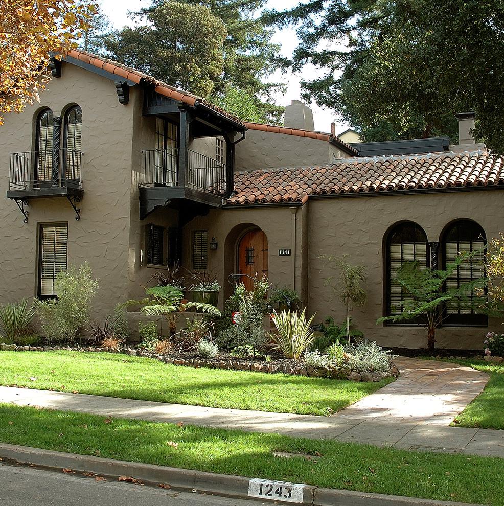 Exterior House Color Mediterranean Exterior San Francisco