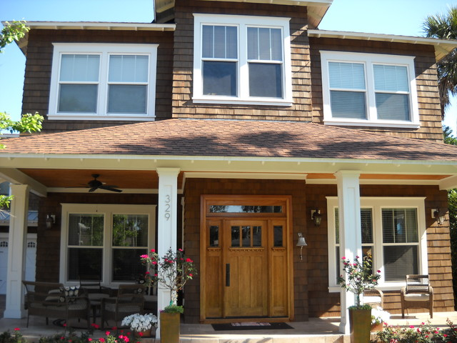 Exterior house painting - Traditional - Exterior - jacksonville - by A New Leaf Painting, LLC