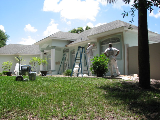 Exterior House Painting Cocoa, FL traditional-exterior