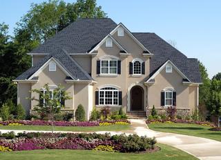 Traditional exterior atlanta by hunter homes amp properties