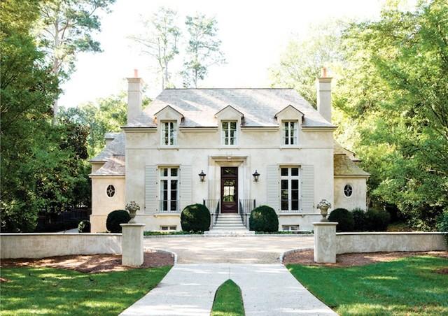 french provincial homes designs. Elegant exterior home photo in Atlanta French Provincial Exterior  Houzz