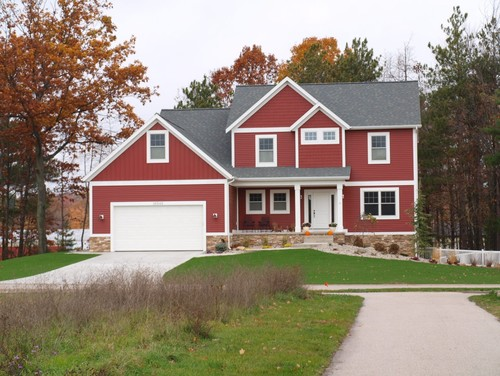 Red Barn Or Boothbay Blue Exterior Inspiration On The