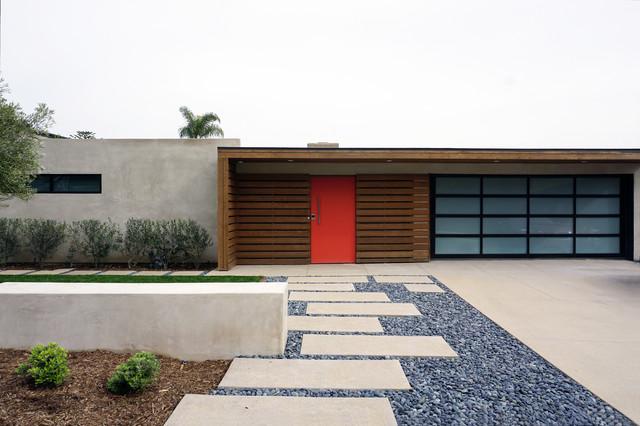 Exterior Mid Century Modern Building Design Midcentury Exterior Orange