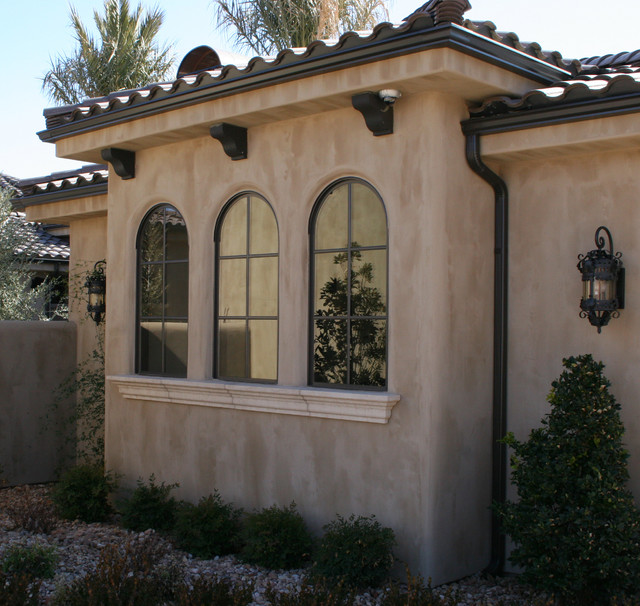 Exterior Molding & Trim enhance doors and windows - Mediterranean ...