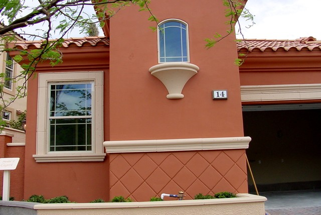 Exterior Molding Trim Enhance Doors And Windows Traditional Exterior Las Vegas By