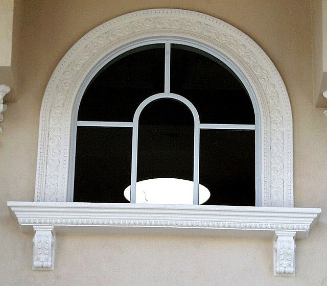 Exterior molding trim enhance doors and windows for Exterior window trim design