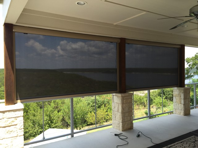 Motorized Exterior Shades Exterior Shades For Your House