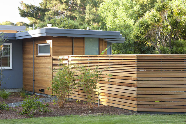 Fence For Mid Century Modern House