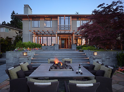 Outdoor living from architecture in Seattle