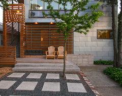 Exterior of the Juliet House contemporary-exterior