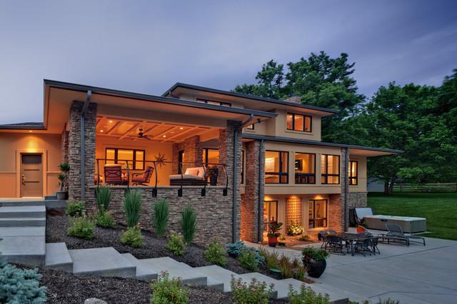 Exterior Outdoor Living Room And Patio Contemporary