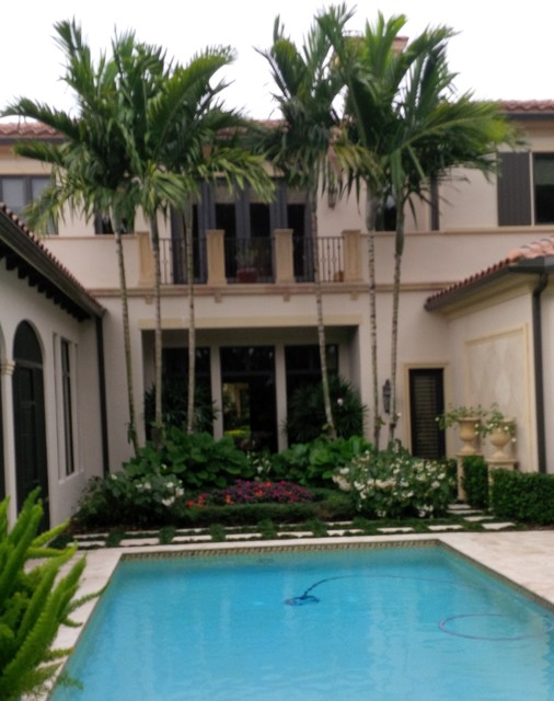 Exterior painting tropical exterior miami by fresh for Tropical exterior house colors