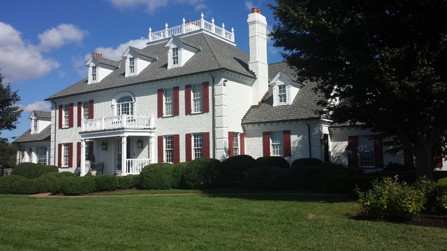 Exterior Painting Sagamore Farms Traditional Exterior Baltimore By Klappenberger Son Llc