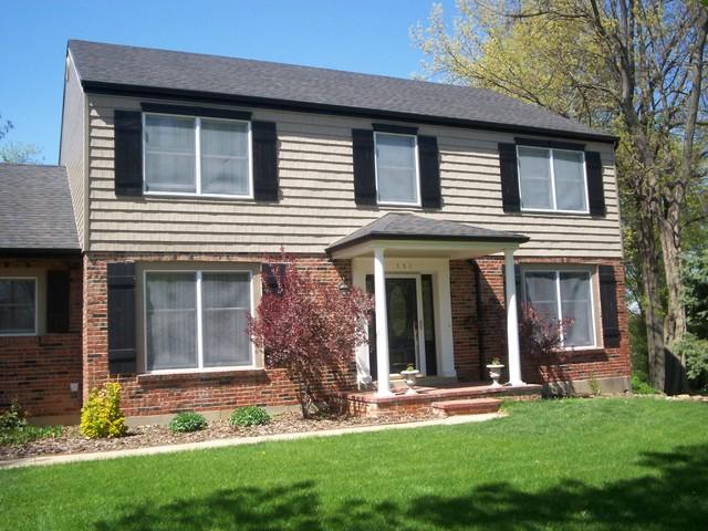 Exterior Photos for a house face lift traditional-exterior