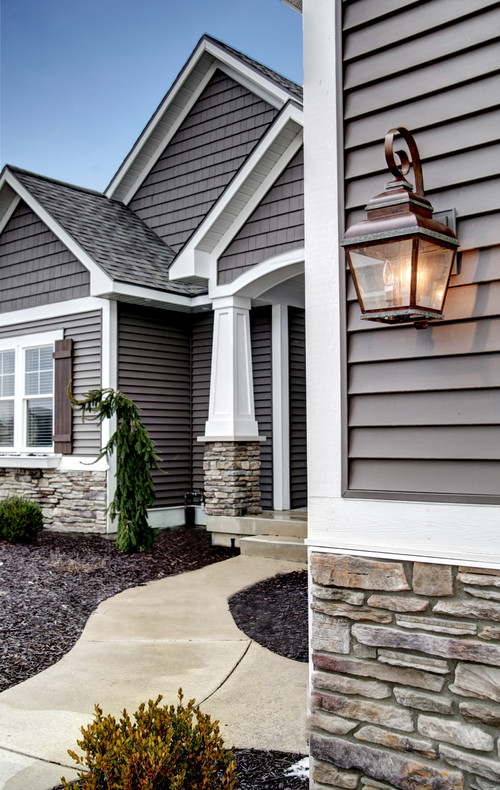 stone and siding colors