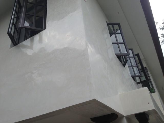 Exterior polished Venetian plaster. Vasari Plaster products - Modern - Exterior - other metro ...