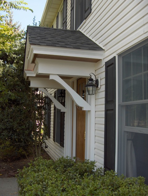 Exterior Renovation, Before and After traditional-exterior