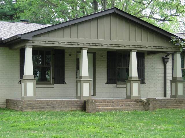 Exterior Renovation In Franklin Tn Traditional
