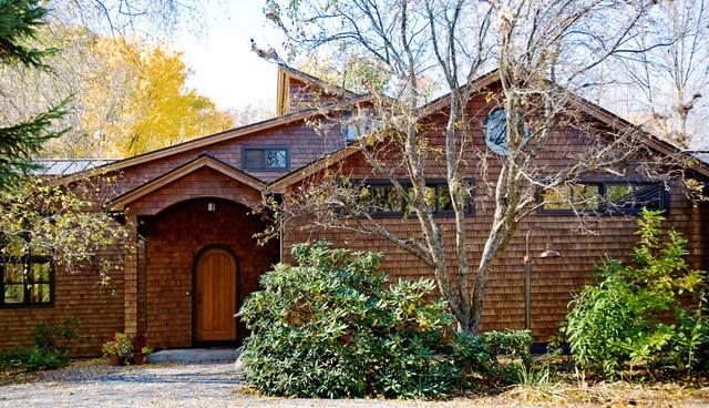 Exterior renovation rustic-exterior