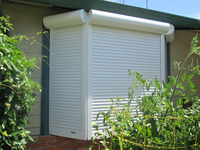 Exterior Rolling Shutters Modern Exterior San Francisco By European Rolling Shutters
