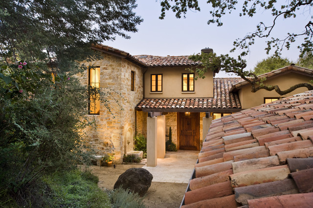 Exterior for Mediterranean stone houses