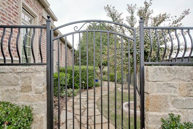 Exterior Security Gate traditional-exterior