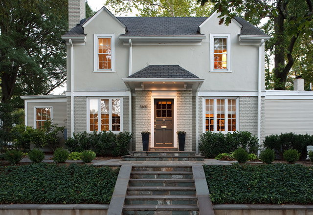 Exterior traditional exterior dc metro by for Modern colonial home exterior