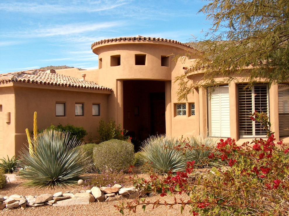 Exterior Southwestern Homes Southwestern Exterior Phoenix By Paint Colors By Sue