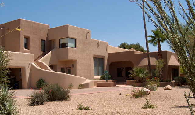Exterior southwestern homes southwestern exterior for Southwest home builders