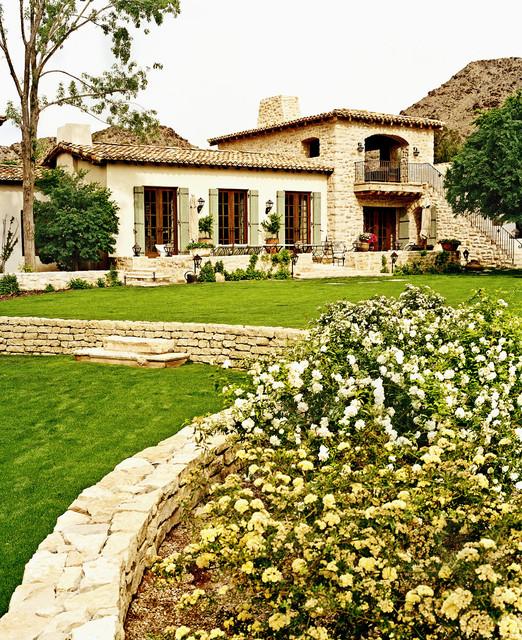 exterior spaces mediterranean-exterior