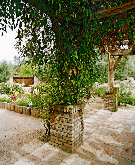 exterior spaces - Mediterranean - Exterior - phoenix - by Don Ziebell