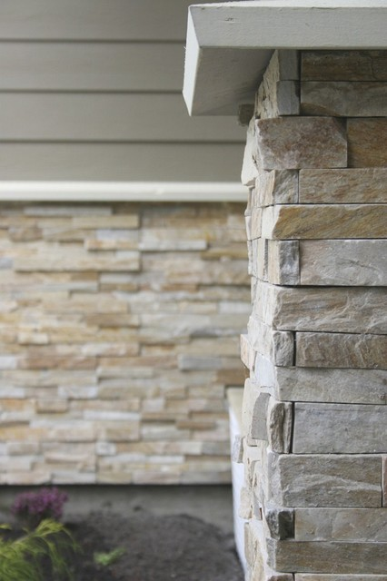 Exterior stone contemporary exterior vancouver by for Modern brick veneer