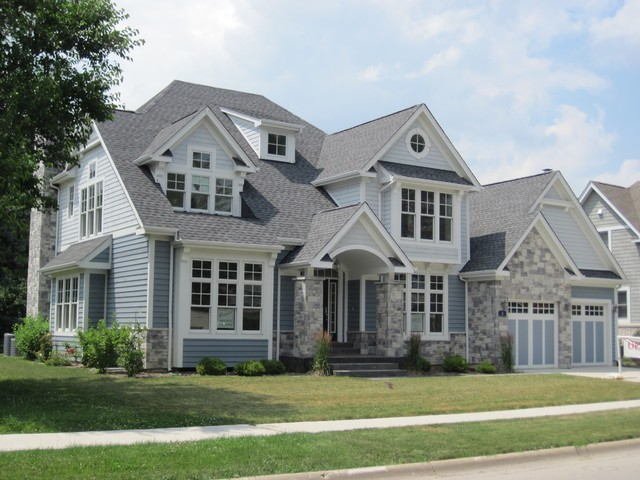 Exterior Stone Siding Castle Rock Traditional Exterior