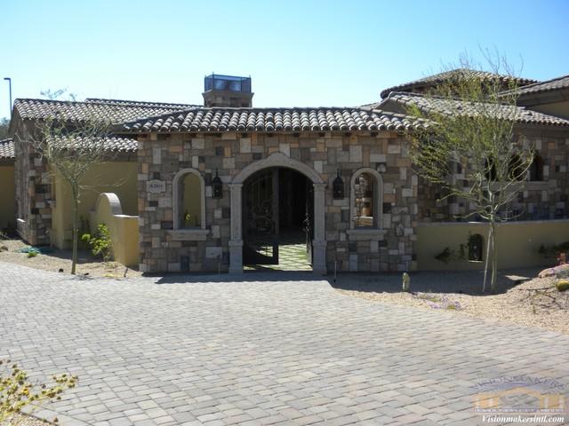 Exterior Stone Treatments mediterranean-exterior
