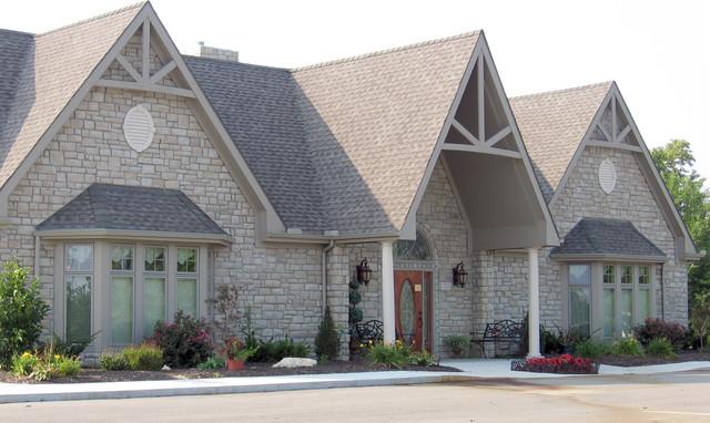 Stone Veneer Exteriors traditional-exterior