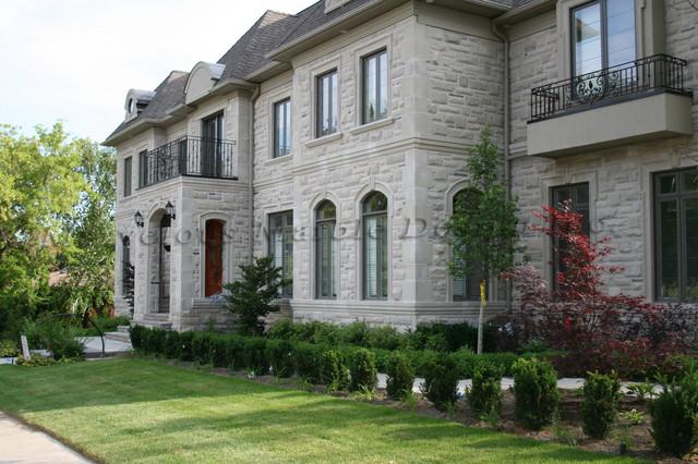 Exterior Stone Work exterior stone work - traditional - exterior - toronto -