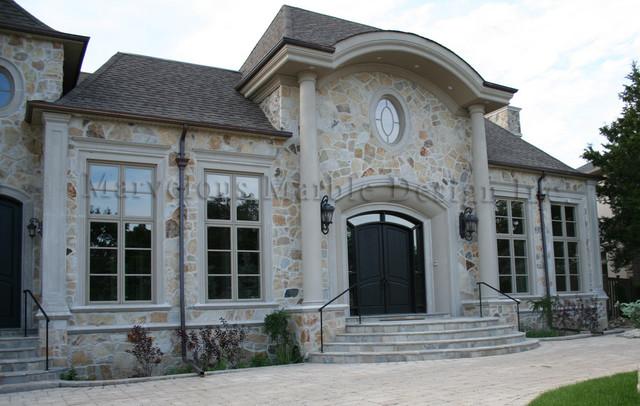 Exterior stone work traditional exterior toronto for Exterior stone work