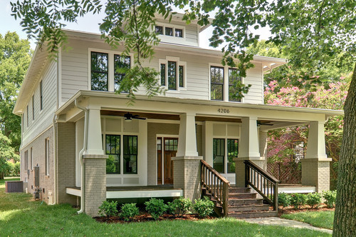 Exterior for How to get paint off siding