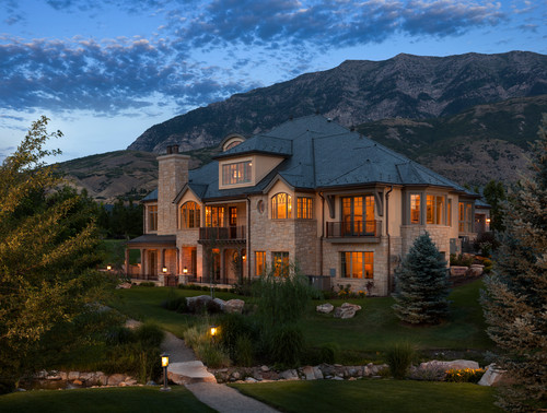 Traditional exterior by salt lake city architects amp designers think