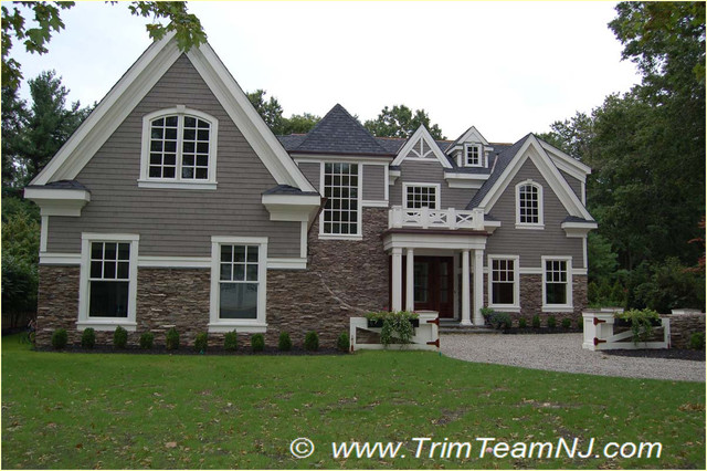 Exterior House Trim And Molding : Exterior trim traditional by team nj