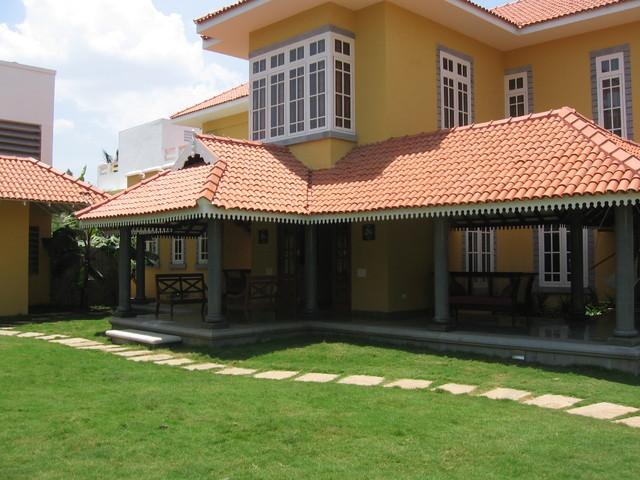 Neelankarai House tropical-exterior
