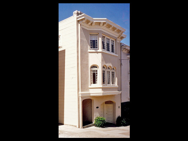 Exterior view traditional exterior san francisco for Architecture kapla