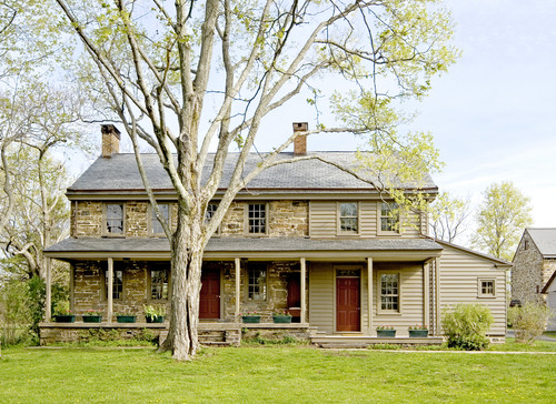 Updating a garrison colonial exterior for Updated colonial home exterior
