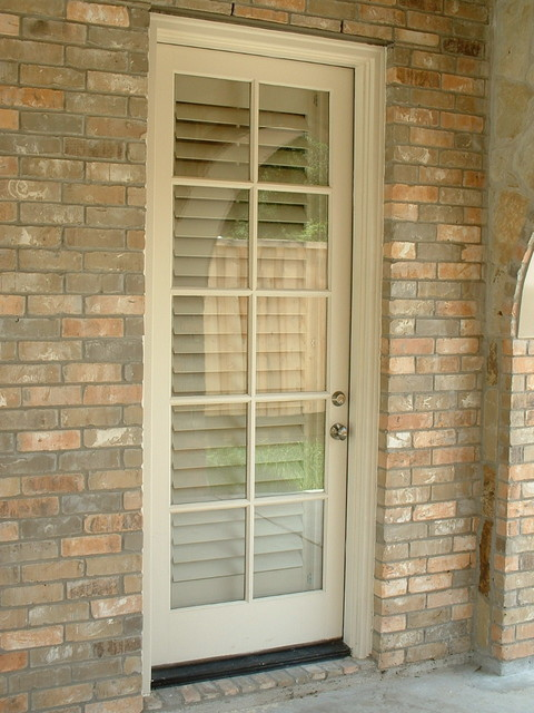 Exterior View Of Shutters Mediterranean Exterior Dallas By Larry Craven