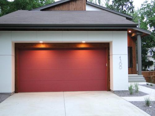 Patriotic Garage Doors Painting The Town Red