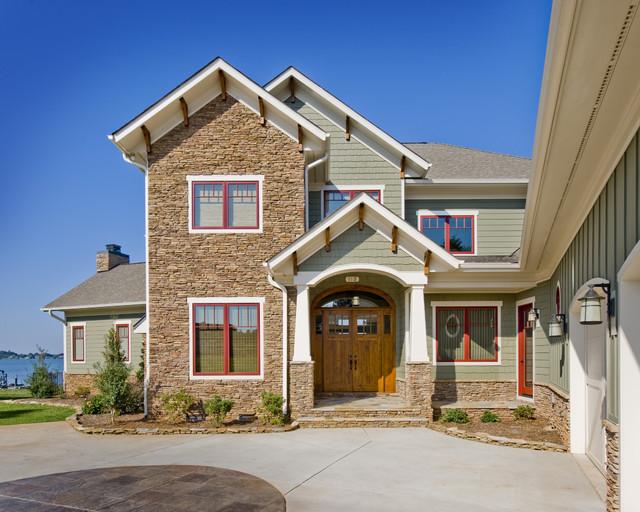 Exteriors for Custom house windows