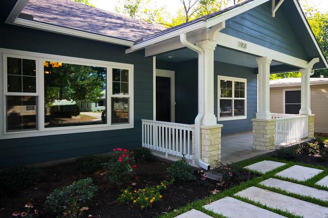Exteriors by Gossett Jones Homes traditional-exterior